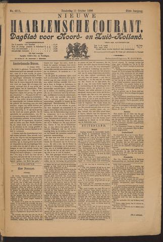 Nieuwe Haarlemsche Courant 1900-10-11