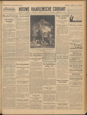 Nieuwe Haarlemsche Courant 1940-02-21