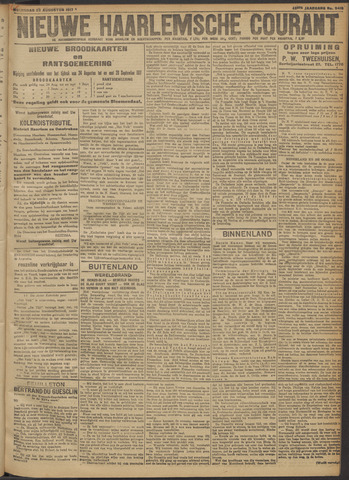 Nieuwe Haarlemsche Courant 1917-08-22