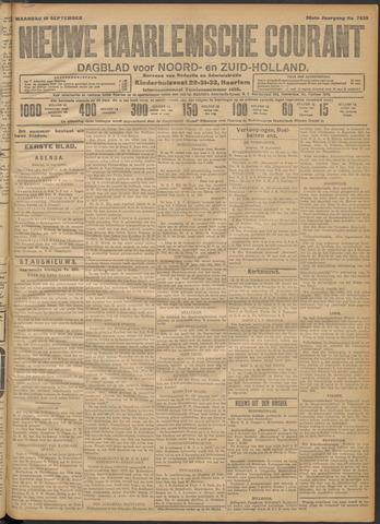 Nieuwe Haarlemsche Courant 1911-09-18