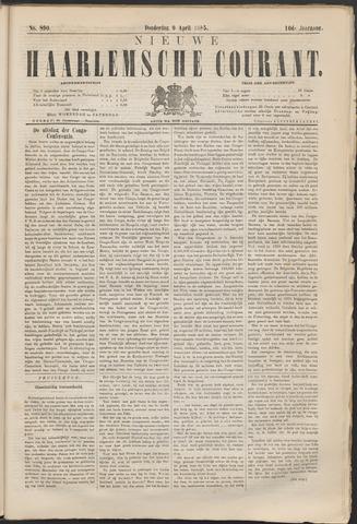 Nieuwe Haarlemsche Courant 1885-04-09