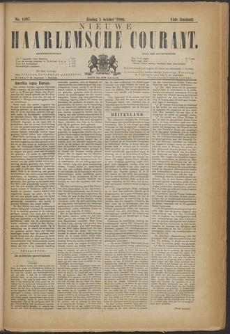 Nieuwe Haarlemsche Courant 1890-10-05