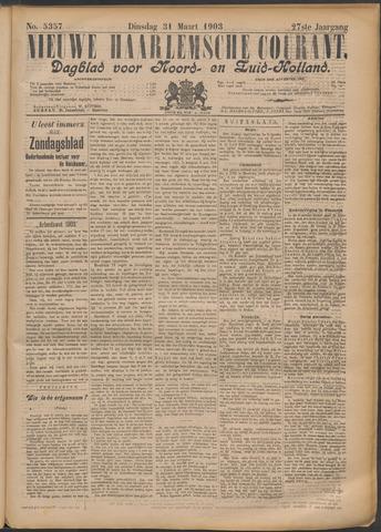 Nieuwe Haarlemsche Courant 1903-03-31