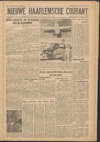 Nieuwe Haarlemsche Courant 1945-08-08