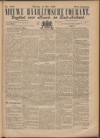 Nieuwe Haarlemsche Courant 1903-05-19