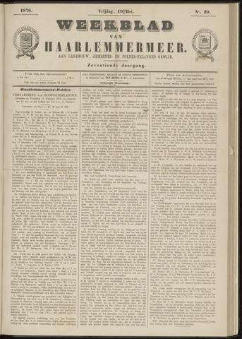 Weekblad van Haarlemmermeer 1876-05-19