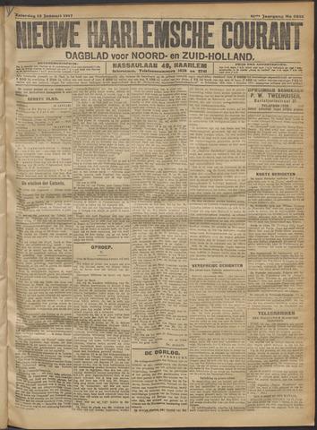 Nieuwe Haarlemsche Courant 1917-01-13