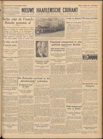 Nieuwe Haarlemsche Courant 1939-03-19