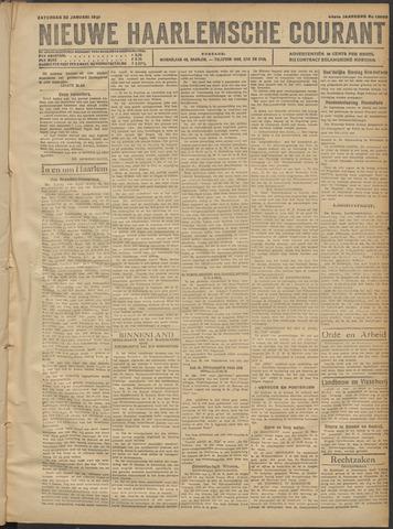 Nieuwe Haarlemsche Courant 1921-01-22