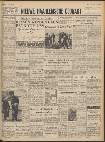 Nieuwe Haarlemsche Courant 1952-06-11