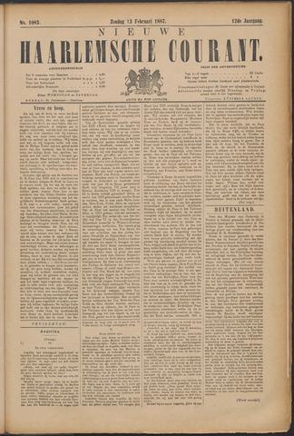 Nieuwe Haarlemsche Courant 1887-02-13