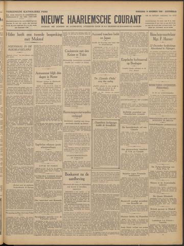 Nieuwe Haarlemsche Courant 1940-11-14