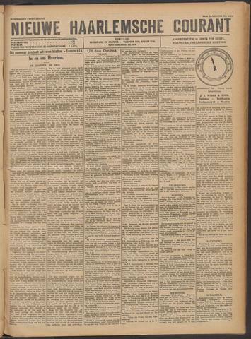 Nieuwe Haarlemsche Courant 1922-02-01