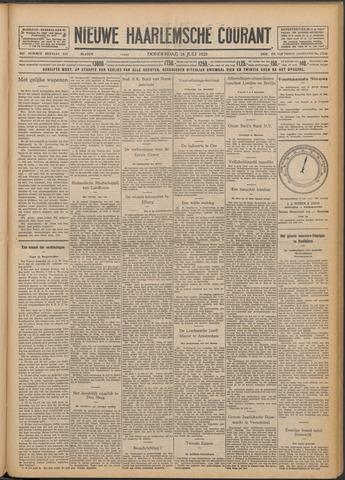 Nieuwe Haarlemsche Courant 1929-07-18
