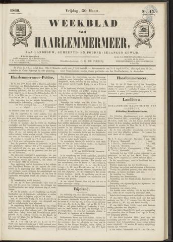Weekblad van Haarlemmermeer 1860-03-30