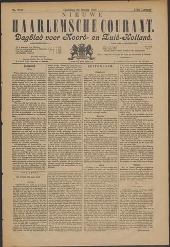 Nieuwe Haarlemsche Courant 1896-10-29