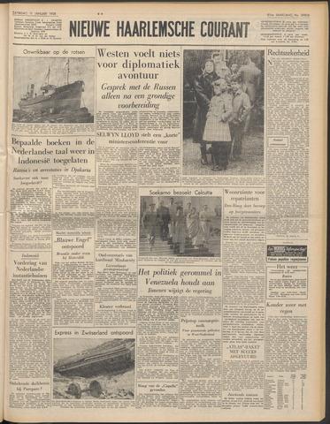 Nieuwe Haarlemsche Courant 1958-01-11