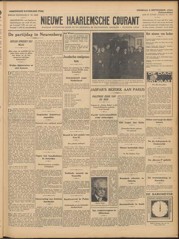 Nieuwe Haarlemsche Courant 1934-09-04