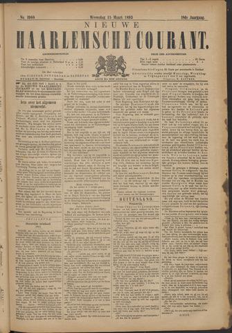 Nieuwe Haarlemsche Courant 1893-03-15