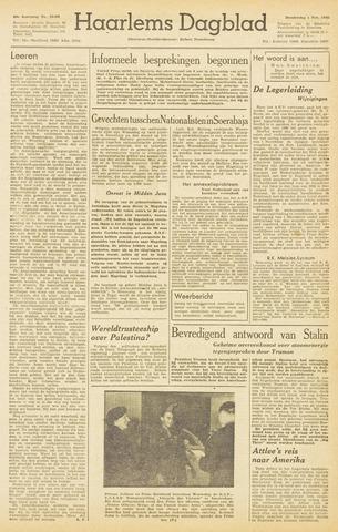 Haarlem's Dagblad 1945-11-01
