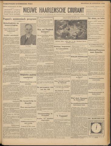 Nieuwe Haarlemsche Courant 1932-08-29