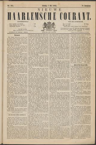 Nieuwe Haarlemsche Courant 1882-05-07