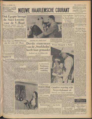 Nieuwe Haarlemsche Courant 1956-09-25