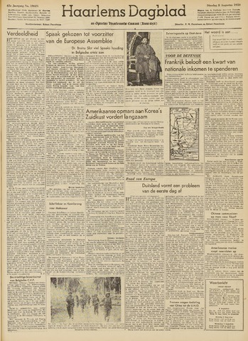 Haarlem's Dagblad 1950-08-08