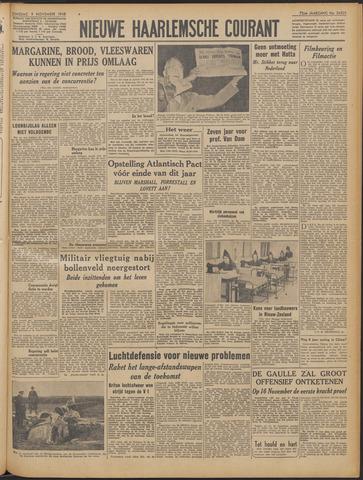 Nieuwe Haarlemsche Courant 1948-11-09