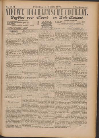 Nieuwe Haarlemsche Courant 1905-01-05