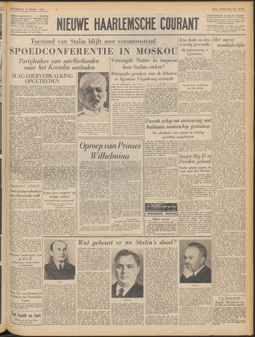 Nieuwe Haarlemsche Courant 1953-03-05