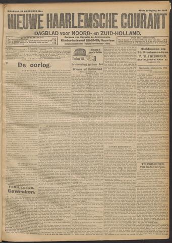 Nieuwe Haarlemsche Courant 1914-11-23