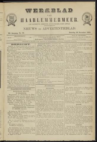 Weekblad van Haarlemmermeer 1885-12-26