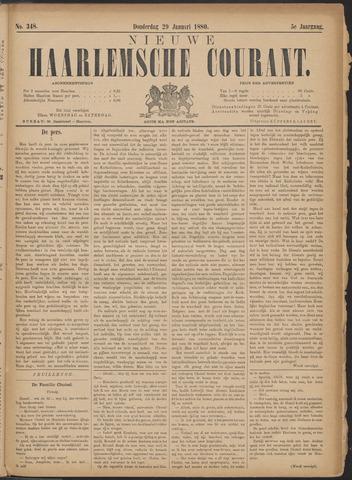 Nieuwe Haarlemsche Courant 1880-01-29