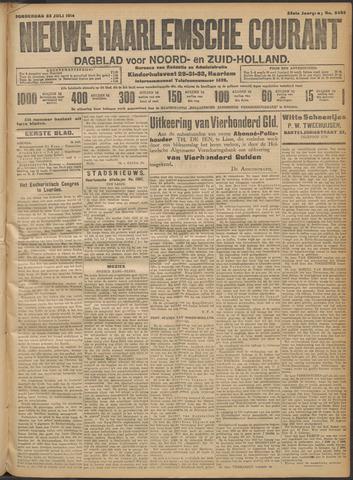 Nieuwe Haarlemsche Courant 1914-07-23