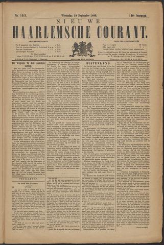 Nieuwe Haarlemsche Courant 1889-09-18