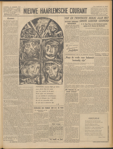 Nieuwe Haarlemsche Courant 1949-12-24