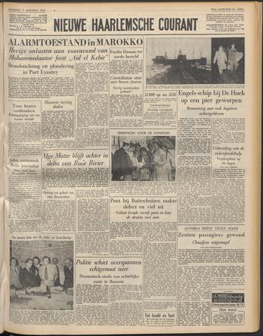 Nieuwe Haarlemsche Courant 1954-08-09