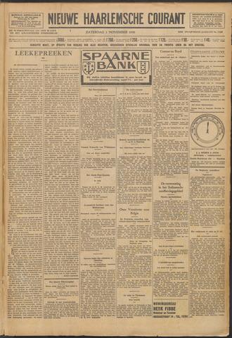 Nieuwe Haarlemsche Courant 1930-11-01