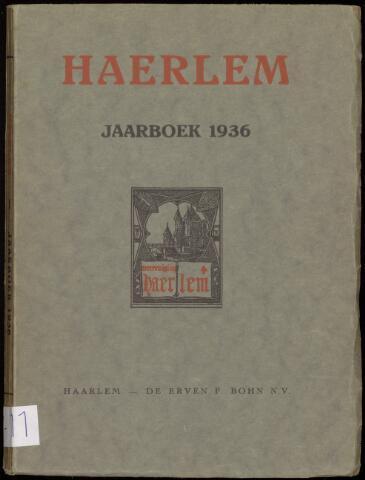 Jaarverslagen en Jaarboeken Vereniging Haerlem 1936