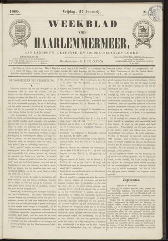 Weekblad van Haarlemmermeer 1860-01-27