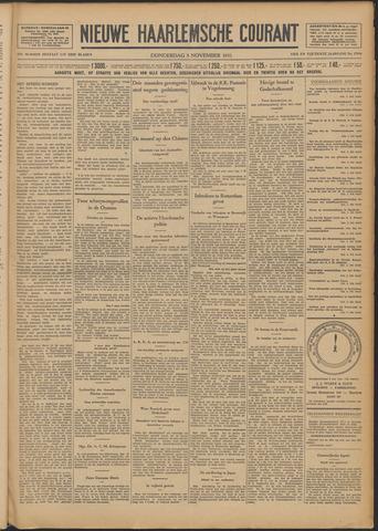 Nieuwe Haarlemsche Courant 1931-11-05