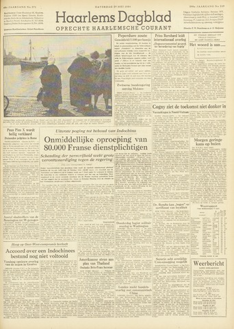 Haarlem's Dagblad 1954-05-29