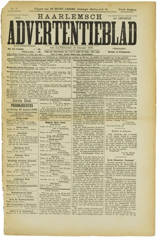 Haarlemsch Advertentieblad 1888-01-28