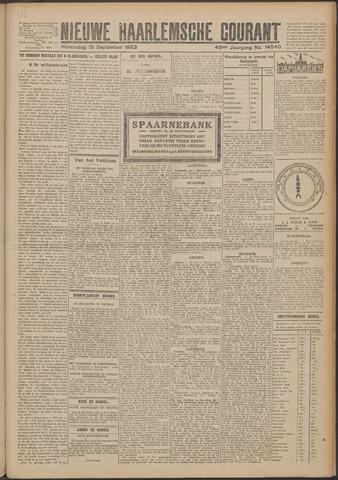 Nieuwe Haarlemsche Courant 1923-09-19