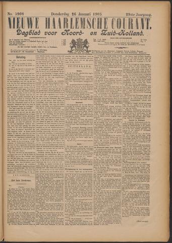 Nieuwe Haarlemsche Courant 1905-01-26