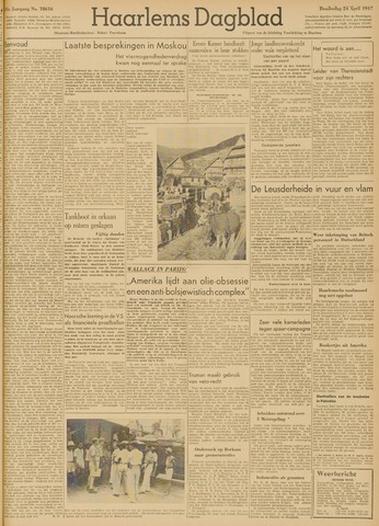 Haarlem's Dagblad 1947-04-24