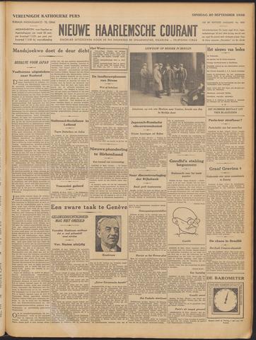 Nieuwe Haarlemsche Courant 1932-09-20