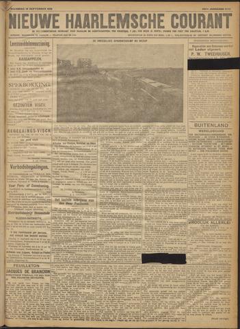 Nieuwe Haarlemsche Courant 1918-09-16