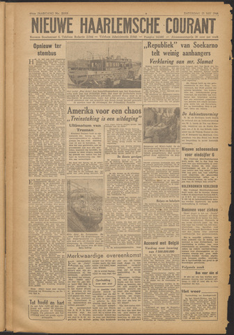 Nieuwe Haarlemsche Courant 1946-05-25